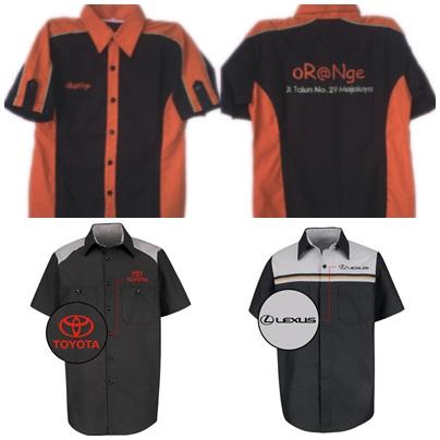 menjaga profesionalisme kerja dengan seragam kerja